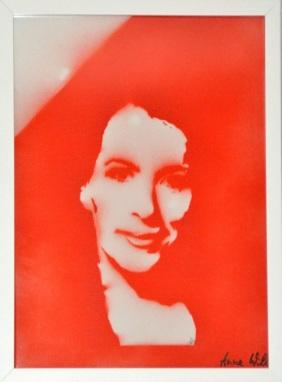 >>Anne Will<< (30x40cm)