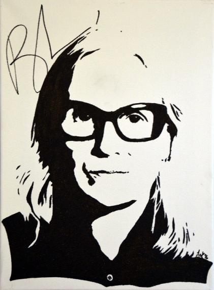 Brigitte Lacombe (30x40cm) signed, Berlin