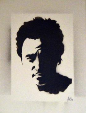 >>Bruce Springsteen<< (30x40cm)