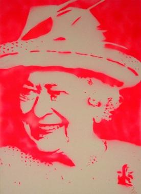 >>Die Queen<< (60x80cm)