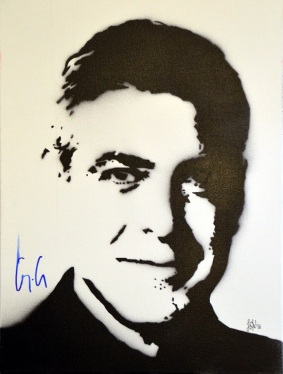 """George Clooney"" (30x40cm)"