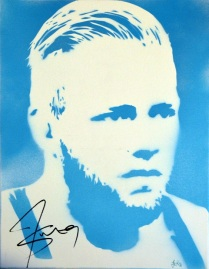 Jack Swagger (30x40cm) signed, Cologne