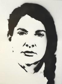 Marina Abramović (30x40cm) unsigned