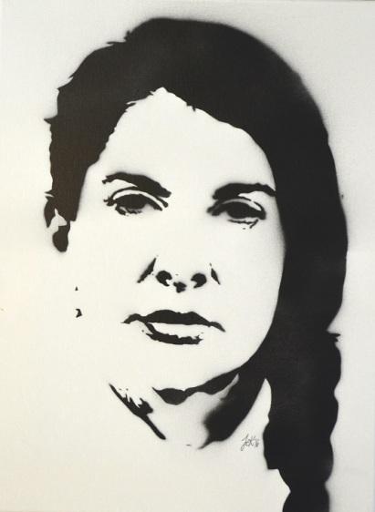 >>Marina Abramović<< (30x40cm)