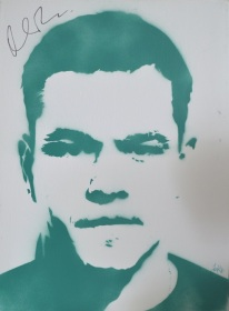 >> Matt Damon << (30x40cm)