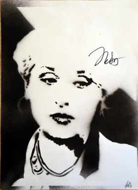 Meryl Streep as Miranda Priestly (30x40cm) signed, Berlin