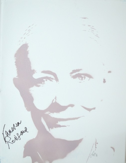 Vanessa Redgrave (30x40cm) signed, London