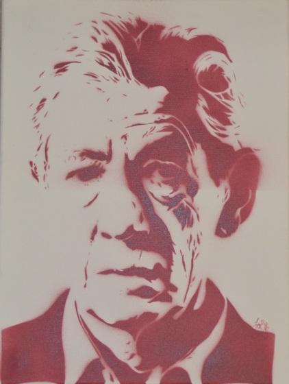 >>Ian McKellen<< (30x40cm)