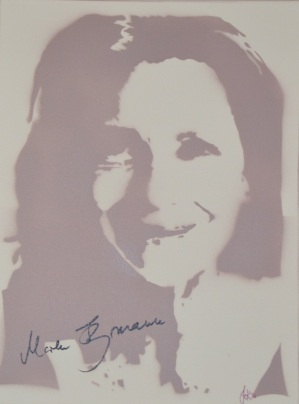 >>Maren Kroymann<< (30x40cm)
