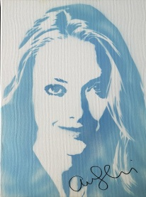 Amanda Seyfried (30x40cm) signed, London