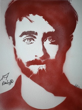 Daniel Radcliff (30x40cm) signed, London