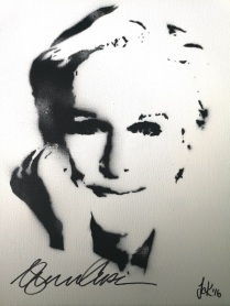 Glenn Close (30x40cm) signed, London