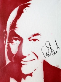 Sir Patrick Stewart (30x40cm) signed, London