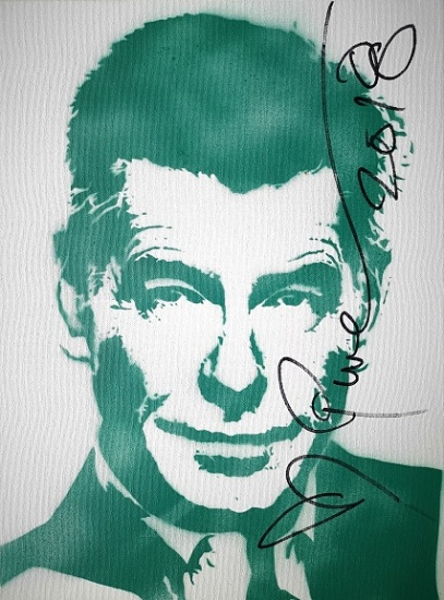Pierce Brosnan (30x40cm) signed, London