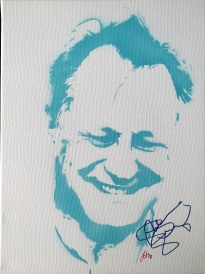 Stellan Skarsgard (30x40cm) signed, Berlin